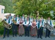 Die Seedorfer Blaskapelle gibt am 10. Juni ihr traditionelles Jahreskonzert in der Mehrzweckhalle. (Bild: PD)