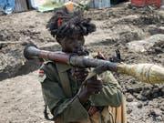 Bei weiteren Verstössen gegen die Waffenruhe droht die Uno dem Südsudan mit Sanktionen wie etwa einem Waffen-Embargo. (Bild: KEYSTONE/AP/JUSTIN LYNCH)