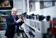 Der bekannte Fotograf und Modelagent Charly Werder erhält die Auszeichnung für sein Lebenswerk. (Bild: Stefan Kaiser (Walterswil, 30. Januar 2018))