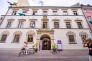Im Palais Liechtenstein wird die Jubiläumsausstellung zu 800 Jahren Feldkirch gezeigt. Bild: Urs Bucher