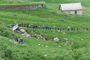 Beim Gotthardmarsch werden rund 2000 Höhenmeter zurückgelegt. (Bild: PD)