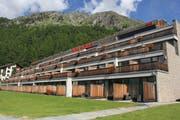 Hotel Nira Alpina in Silvaplana-Surlej.