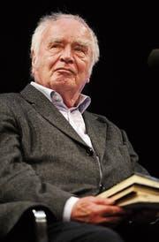 Altersgewitzt, übermütig, literarisch hemmungslos: Martin Walser. (Bild: Henning Kaiser/EPA)