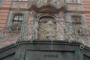 Das Bischofszeller Rathaus in der Marktgasse. (Bild: Nana Do Carmo)