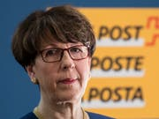 Nicht mehr Chefin der Post: Susanne Ruoff ist am Freitag aufgrund des Untersuchungsberichts zur Postauto-Affäre zurückgetreten. Dies wurde am Sonntagabend mitgeteilt. (Bild: KEYSTONE/PETER SCHNEIDER)