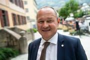 Jürg Stahl, Präsident Swiss Olympic und Verein «Sion 2026». (Bild: Olivier Maire/KEY)