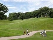 Golf ist in Finnland in einem Hoch (Bild: KEYSTONE/AP/CHARLIE NEIBERGALL)