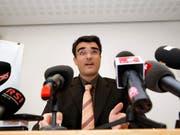 Holte für die Bündner CVP den zweiten Regierungsratssitz: Grossrat Marcus Caduff. (Bild: KEYSTONE/ARNO BALZARINI)