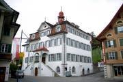 Das Rathaus in Sarnen. (Bild Corinne Glanzmann)