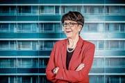 Die abtretende Postchefin Susanne Ruoff. (Bild: Nadja Schärli (14.11.2017))