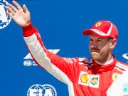 Sebastian Vettel feierte in Montreal seinen 50. Sieg in der Formel 1 (Bild: KEYSTONE/AP The Canadian Press/RYAN REMIORZ)