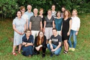 14 der 25 Kandidatinnen und Kandidaten. (Bild: PD)