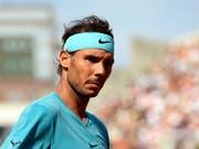 Rafael Nadal kann das French Open zum elften Mal gewinnen (Bild: KEYSTONE/EPA/GUILLAUME HORCAJUELO)