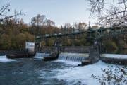 Das Wasserkraftwerk der CKW in Emmen. (Bild: Dominik Wunderli)