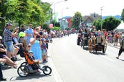 In Au wurde am Wochenende ein grosses Jubiläumsfest gefeiert, an dem auch der verstorbene Mann teilgenommen hatte. (Bild: Max Tinner)
