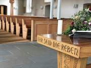 Gemäss Pfarrer Lars Syring ist immer unklarer, was gemeint ist, wenn man von «der Kirche» spricht. (Bild: Roger Fuchs)
