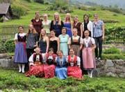 Die Absolventinnen der Bäuerinnenschule in Gurtnellen. Bild: PD