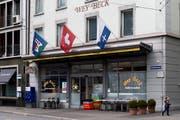 Die Wey Beck an der Stadthofstrasse in Luzern. Bild: Eveline Beerkircher (Luzern, 15. April 2018)