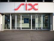 Die Schweizer Börse SIX erhält Zuwachs: Der deutsche Maschinenbauer Klingelnberg lässt seine Aktien hierzulande kotieren. (Bild: KEYSTONE/CHRISTIAN BEUTLER)
