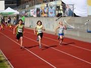 So schnell wie möglich ins Ziel sprinten. (Bild: pd)