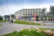 Das Säntis-Hotel auf der Schwägalp. (Bild: Urs Bucher)