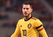 Eden Hazard ist einer von zwölf Spielern der Belgier aus der Premier League. (Bild: AP)