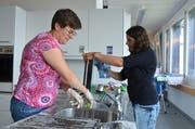 Wer Bäuerin werden will, muss sich unter anderem in Reinigungstechnik und Haushaltführung auskennen. (BIld: Alexandra Gächter)