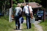 Für Schützenfans gibt es viele Veranstaltungen. (Symbolbild: KEYSTONE/Peter Klaunzer (Sigriswil im Berner Oberland, 2012)