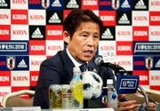 Akira Nishino ist der neue Trainer Japans. (Bild: Yohei Fukai/Keystone)