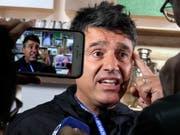 Sieht im Video-Beweis viele Vorteile: der Tessiner FIFA-Schiedsrichter-Chef Massimo Busacca (Bild: KEYSTONE/AP/DMITRI LOVETSKY)