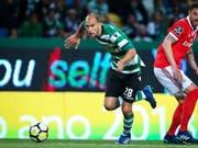 Topskorer Bas Dost will nach den Fan-Attacken aus Lissabon weg (Bild: KEYSTONE/EPA LUSA/ANTONIO COTRIM)