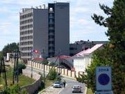Das Schweizer WM-Quartier: Lada-Resort in Togliatti (Bild: KEYSTONE/LAURENT GILLIERON)