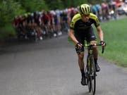 Christopher Juul-Jensen sichert sich an der Tour de Suisse seinen grössten Sieg (Bild: KEYSTONE/GIAN EHRENZELLER)