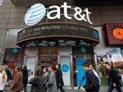Der US-Telekommkonzern AT&T darf den Mediengiganten Time Warner ohne Auflagen übernehmen. (Bild: KEYSTONE/AP/MARK LENNIHAN)