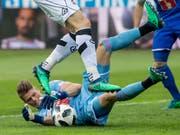 Jonas Omlin machte in dieser Saison mit starken Leistungen auf sich aufmerksam (Bild: KEYSTONE/ALEXANDRA WEY)