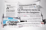 Die Thurgauer Debatte um das Frühfranzösische sorgte vergangenes Jahr schweizweit für Schlagzeilen. (Bild: Benjamin Manser und Hanspeter Schiess)