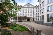 Das Hotel Einstein in St.Gallen. (Bild: Urs Bucher)