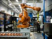 Die Produkte von Schweizer Industrieunternehmen blieben im ersten Quartal gefragt. (Bild: KEYSTONE/ALEXANDRA WEY)