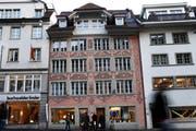 Das historische Haus Mühlenplatz 3/4.Bild: Jakob Ineichen