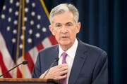 Fed-Chef Jerome Powell. (Bild: Michael Reynolds/EPA (Washington, 13. Juni 2018))