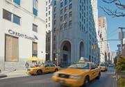 Eine Credit-Suisse-Filiale in New York. (Bild: Martin Ruetschi/Keystone (6. Februar 2012))