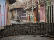 Nach wochenlangen Protesten in Nicaragua haben die Konfliktparteien erneut Gespräche vereinbart. (Bild: KEYSTONE/EPA EFE/JORGE TORRES)