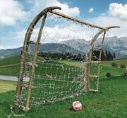 Eine Alternative zur WM: Hier spielt der «FC Rehärze». (Bild: Hubert Aregger (Schüpfheim, 27. Mai 2018))