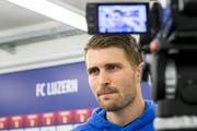 «In den nächsten zehn Tagen ist die athletische und konditionelle Arbeit wichtig.» sagt FCL-Captain Claudio Lustenberger.