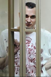 Filmemacher Oleg Senzow. (Bild: AP (Rostov, 25. August 2015))
