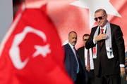 Der türkische Präsident Recep Tayyip Erdogan. (Bild : EPA/Tolga Bozoglu)