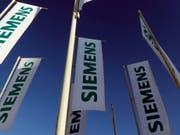 Siemens baut neuen Hochgeschwindigkeitszug trotz Bahnehe mit dem französischen Konkurrenten Alstom. (Bild: KEYSTONE/AP/MATTHIAS SCHRADER)