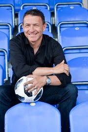 Sportmoderatur und Fussballer Daniel Kern (Bild: Donato Caspari)