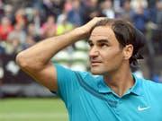 Roger Federer spielt am Freitag im Viertelfinal gegen Guido Pella (Bild: KEYSTONE/dpa/MARIJAN MURAT)