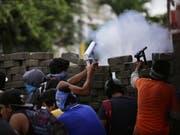 Die Regierung in Nicaragua soll Pestizide gegen Demonstranten eingesetzt haben. (Bild: KEYSTONE/EPA EFE/BIENVENIDO VELASCO BLANCO)
